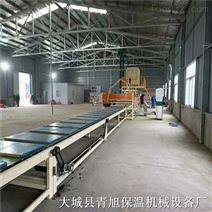 機制巖棉板、砂漿巖棉復合板設備生產線