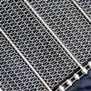 不锈钢316S耐高温螺旋乙型网带菱形人字输送