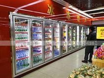 广西超市推拉门三门饮品冷藏柜价格