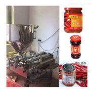 辣椒醬雙頭氣動定量灌裝機