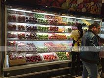 北京直角水果保鮮風幕柜款式有哪一些