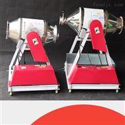 304不锈钢腰鼓式搅拌机小型食品化工滚筒式混料机干粉颗粒拌料机