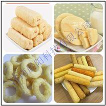 谷物麦圈生产设备厂家直销 玉米片设备