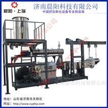 大型膨化饲料生产线  湿法饲料膨化机