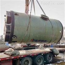 江西一體化雨水泵站作用玻璃鋼預制泵站