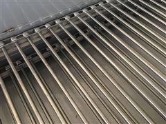 304不锈钢粉皮烘干机链杆式网带