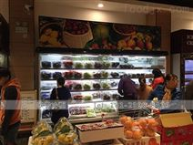 廣西外置3米的水果保鮮柜風幕柜價格