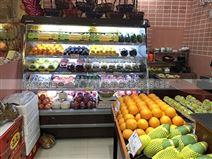 惠州水果风幕柜多少钱一米哪个品牌好耐用