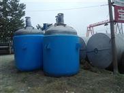 回收二手不锈钢电加热反应釜公司