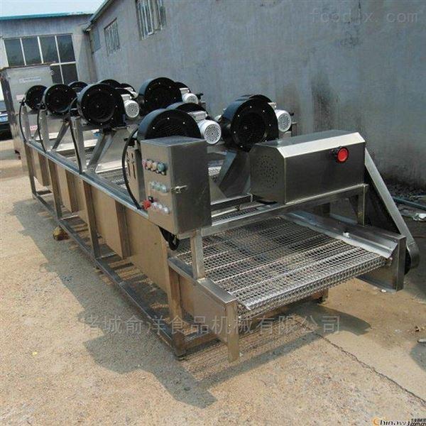 俞洋供应蔬菜风干流水线 食品翻转式风干机