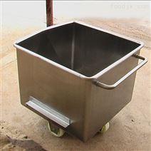 304材质食品厂输送肉料车 料斗车