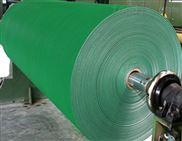 绿色爬坡输送带