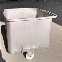 不銹鋼標準肉料車料斗車物料周轉車肉桶車