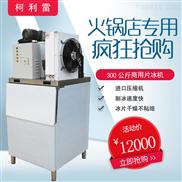 柯利雷制冰机300kg商用片冰机大型海鲜自助餐厅保鲜鳞片机