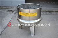 贵州花生酱夹层锅受热面积大