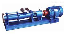 厂家供应G型单型不锈钢污泥螺杆泵