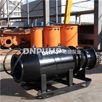 臨時排澇大流量潛水泵臥式軸流泵