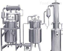 压力容器的分类 中药提取浓缩罐设备
