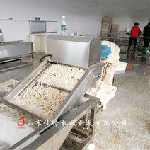 鄭州流水線作業的豆角漂燙機