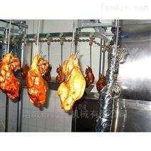 德州烤鸭扒鸡油炸流〓水线