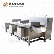 DY-2900食堂果蔬清洗设备全自动三槽洗菜机德盈机械