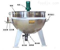 600500型可倾蒸汽夹层锅蒸煮锅生产厂家