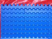 俱全-蓝色直行转弯输送塑料网带