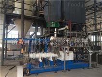 大型鱼饲料膨化机 水产饲料生产线