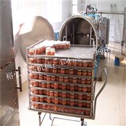 小魚干罐頭高溫殺菌鍋 鋁箔袋包裝食品滅菌