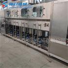 600桶装水饮料生产线厂家~大型不锈钢桶装水灌装机