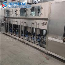 飲料生產線廠家~大型不銹鋼桶裝水灌裝機