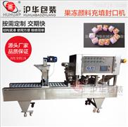 全自动广告画颜料果冻豆腐乳灌装封口机