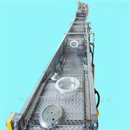 食品托盘不锈钢制品超声波清洗线输送带_链条网带