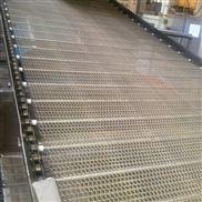 塑料挤出条降温冷却不锈钢网带输送机