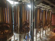 德式兩鍋三器啤酒設備 精釀啤酒 設備廠家