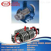 双螺杆泵用于输送合成纤维泵低转速,效率高