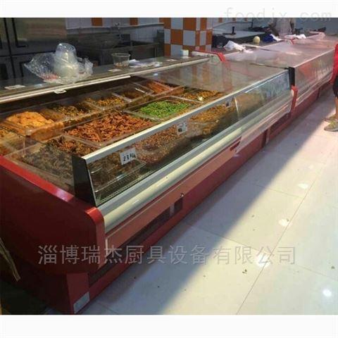 西安超市风冷牛羊肉保鲜展示柜