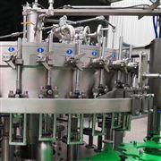 全自动三合一含气饮料灌装机