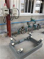 重慶2500kg鋼瓶電子秤 自來水廠稱氯瓶地磅