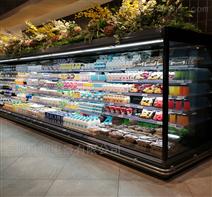 展示柜安徽超市风幕柜冷藏柜水果熟食保鲜