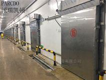 肉食冷藏库,厂家定制单开电动冷库平移门