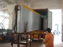 SCS-80T上海80T出口式地磅 3*14m100分体式汽车衡