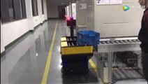 车间物料搬运机器人