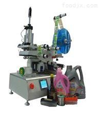 YSJX-615半自动洗发水瓶贴标机