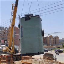 上海一體化預制泵站廠家污水提升泵站玻璃鋼