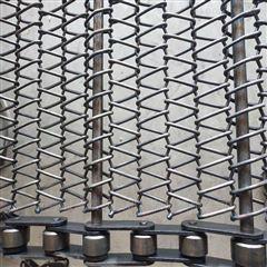 馒头片隧道烤炉输送金属网带_冷却线输送带