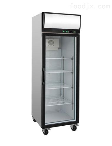 银都双门玻璃冷藏展示柜,便利店饮料柜