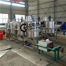 全套食用油精炼设备 大豆精炼机 油脂生产线