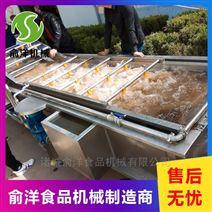 速冻玉米加工气泡清洗机