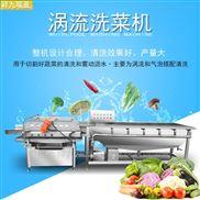 海鲜清洗机多功能洗菜机臭氧排渣消毒